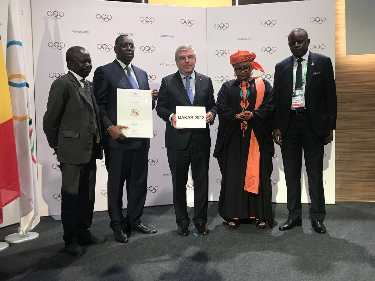Senegal officially awarded 2022 Summer Youth Olympic Games at IOC Session