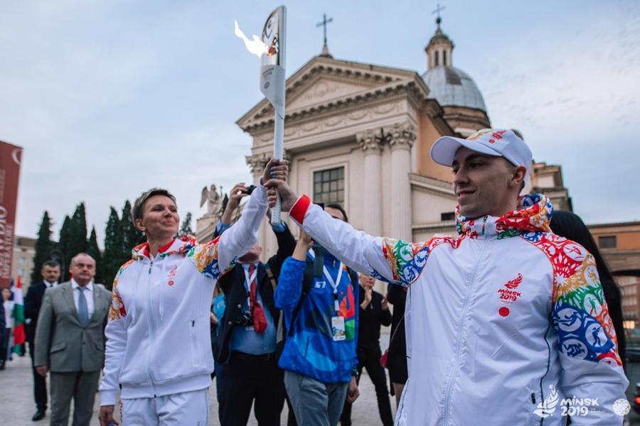 Flame of Peace Lit for Minsk 2019