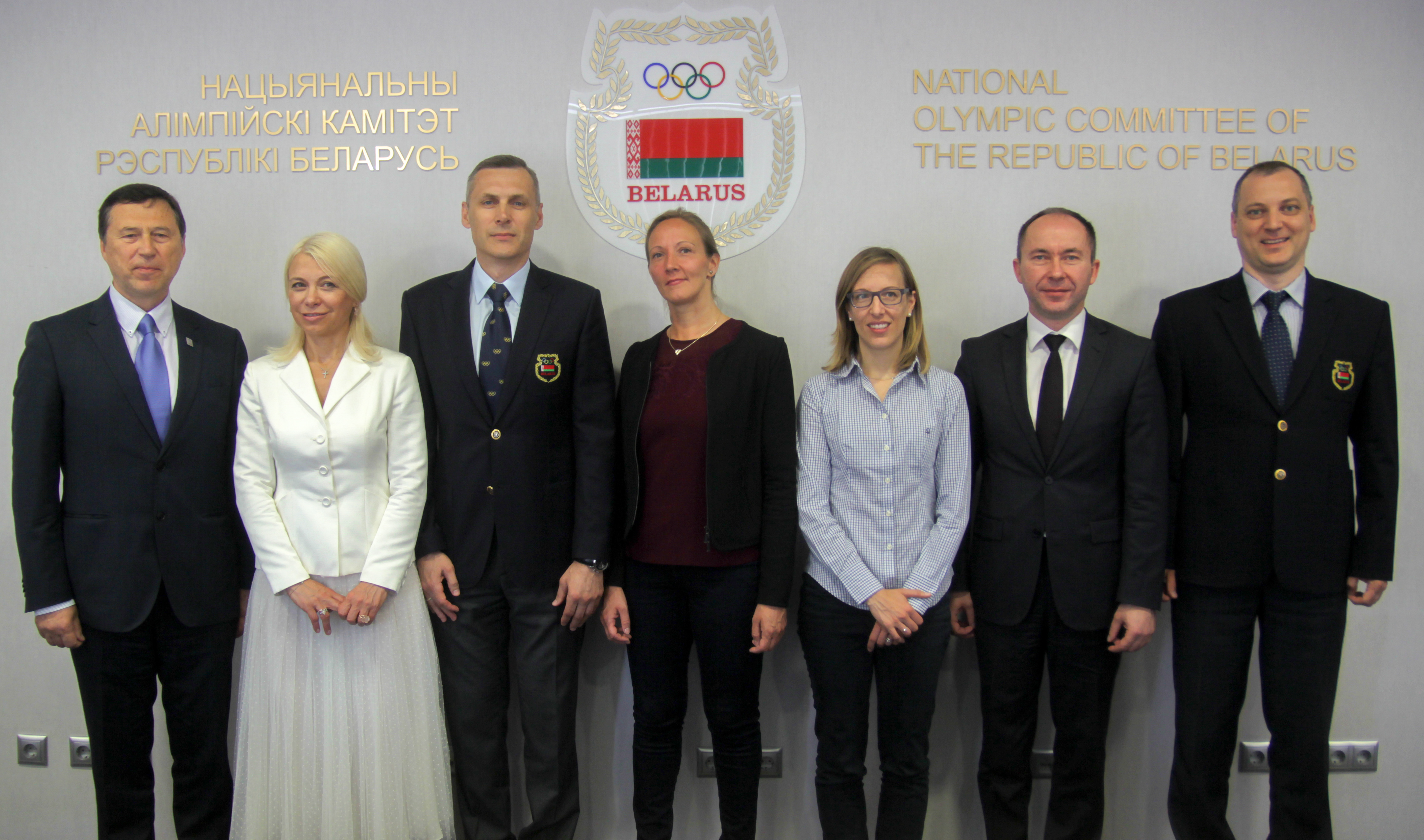 NOC Belarus hold meeting with UEG counterparts