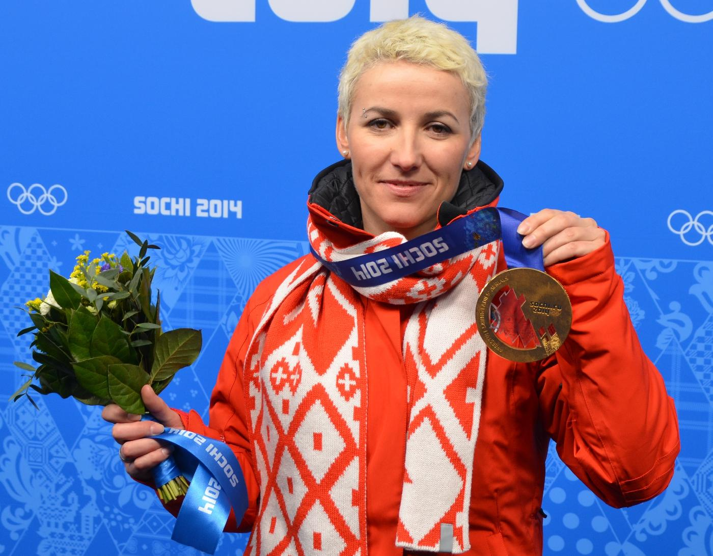 Alla Tsuper awarded Honored Master of Sports title