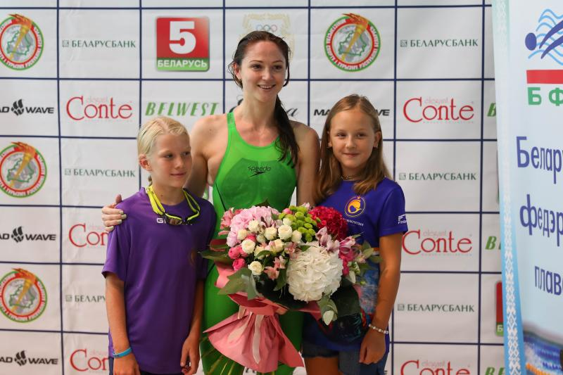 Aliaksandra Herasimenia participated in the charity event and said goodbye to the high-performance sport