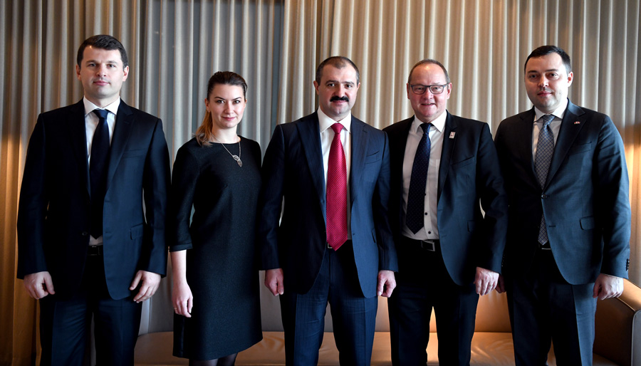 The First Vice President of NOC Belarus met with the head of the Swiss Olympic Association