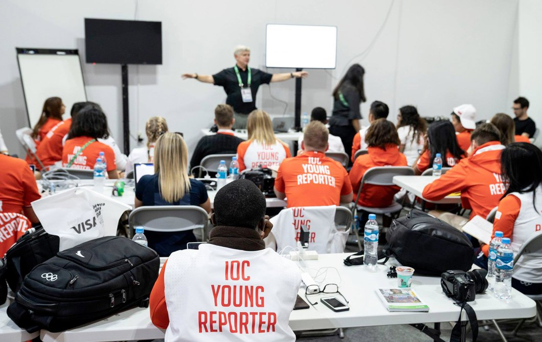 IOC Young Reporters announced for Lausanne 2020