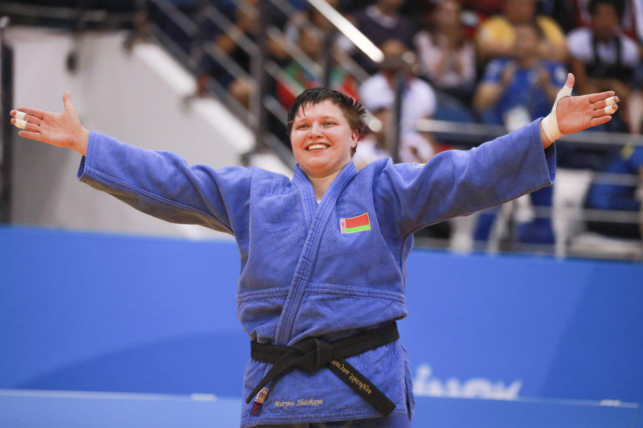 Minsk 2019. Judoka Maryna Slutskaya – Champion of 2nd European Games