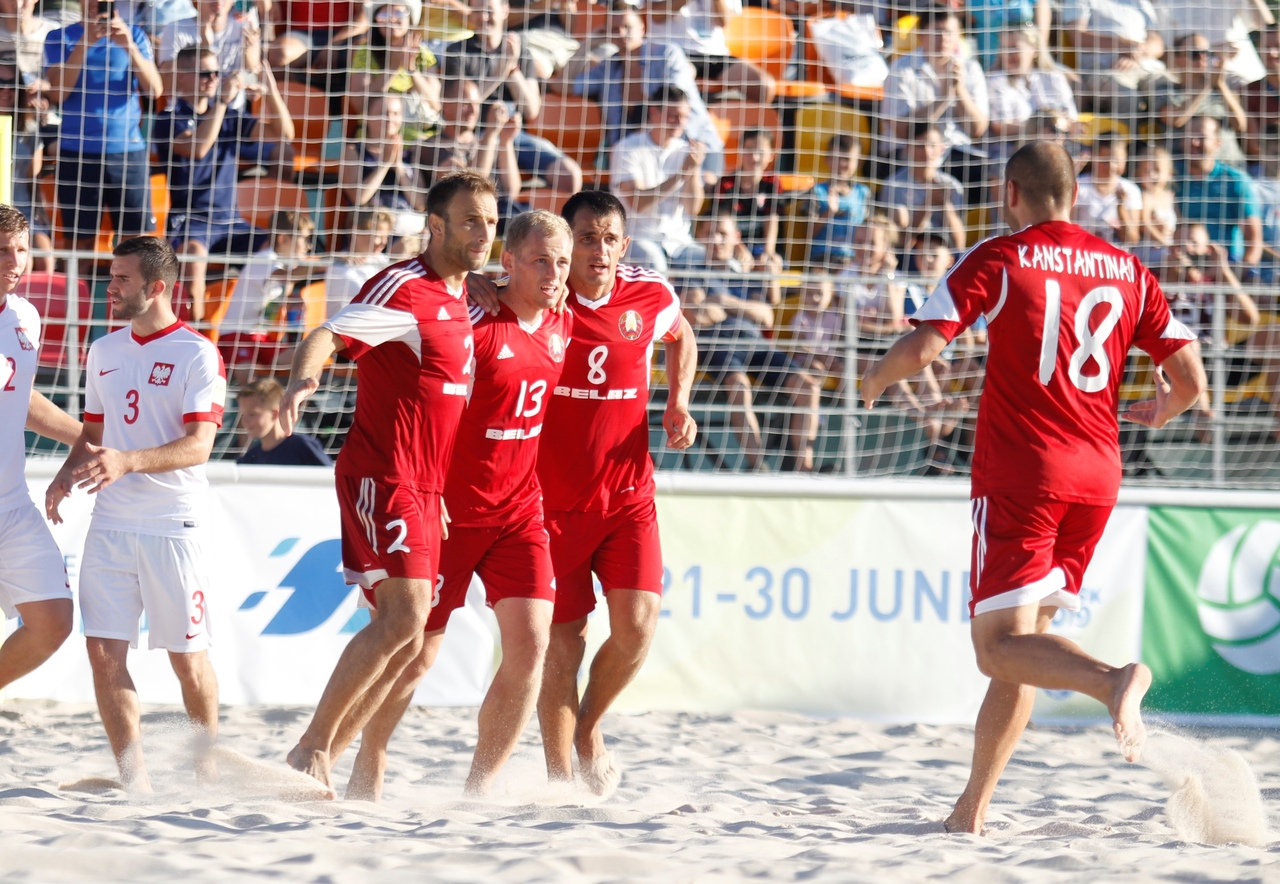 Belarus claim victory at Euro Beach Soccer League Minsk 2019