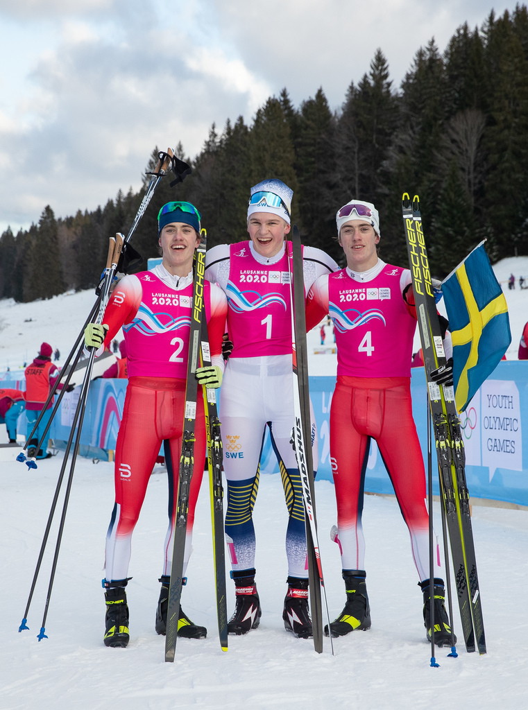 Lausanne 2020.The winners in ski sprint event were decided