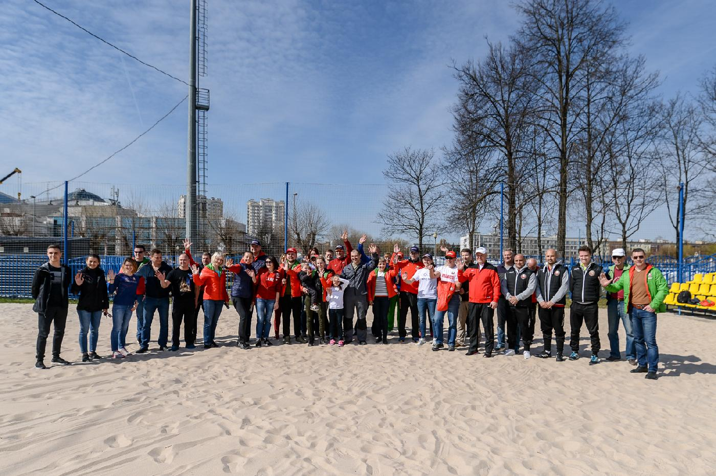 On April 20 the NOC Belarus took part in the community work day