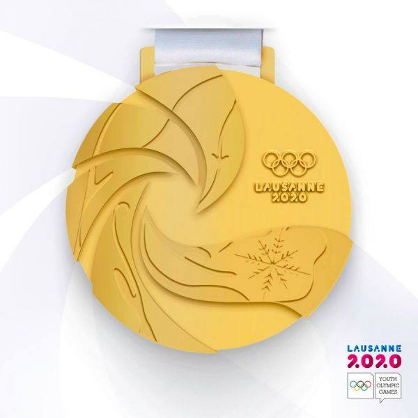 Zakea's Lausanne 2020 medal design reaches the top!