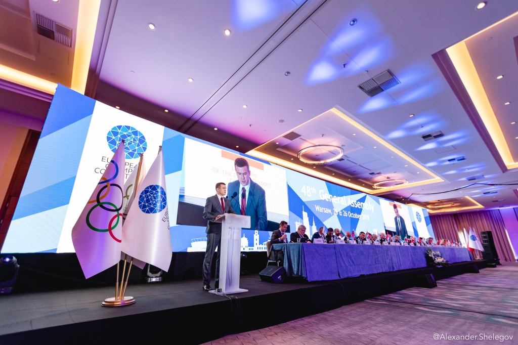 Minsk European Games legacy discussed at EOC General Assembly
