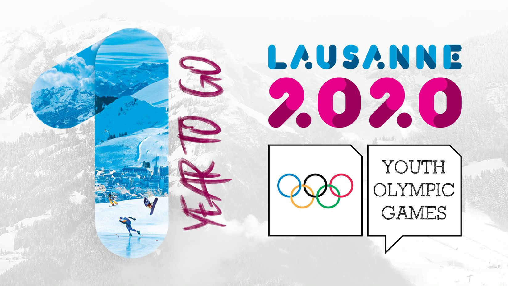 Lausanne 2020 mascot Yodli unveiled on «One Year to go»