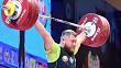 Andrei Aramnau won a silver medal at the World Weightlifting Championships in Thailand