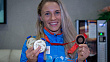 Anastasiya Prokopenko returned to Minsk with Beijing 2008 bronze medal